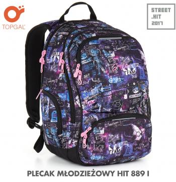 Plecak młodzieżowy dla dziewczyny